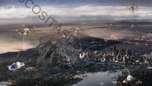 Los drones podrían ayudar a crear una internet cuántica