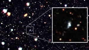 Una galaxia sin oxígeno y sin precedentes puede estar llena de metralla de estrellas gigantes