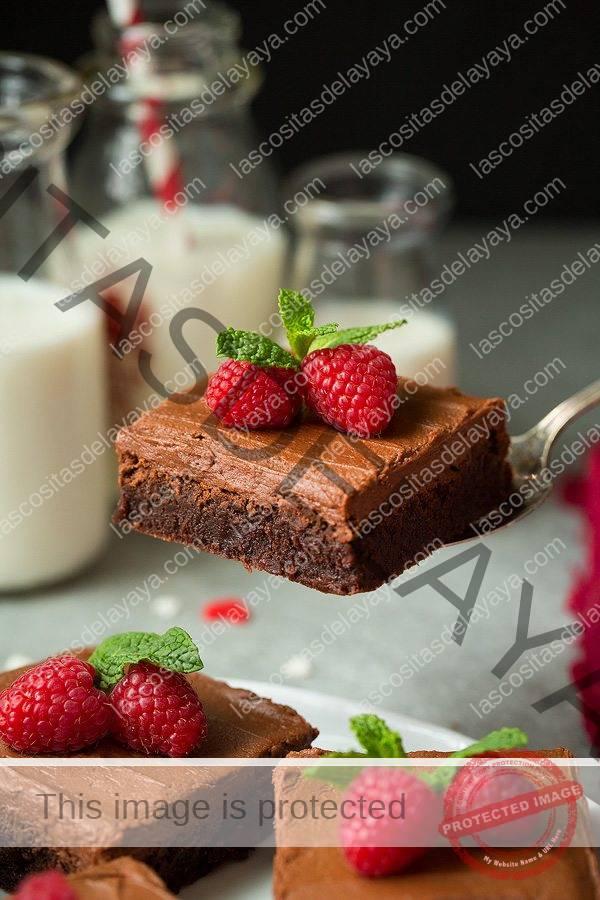 Brownies de chocolate helados |  Cocina con clase