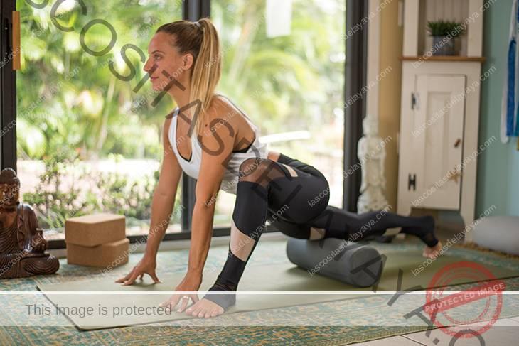 yoga para el dolor de rodilla secuencia-3