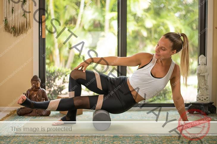 yoga para el dolor de rodilla secuencia-5