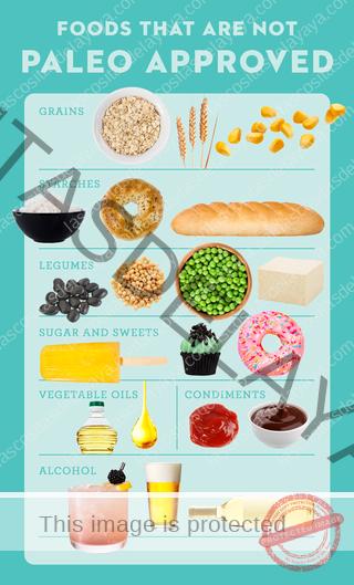 alimentos de la dieta paleo qué alimentos no son aptos para paleo