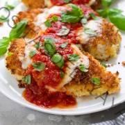 Melhor receita de frango com parmesão