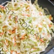 Ensalada de col casera fácil Receta de ensalada de col 4 ingredientes