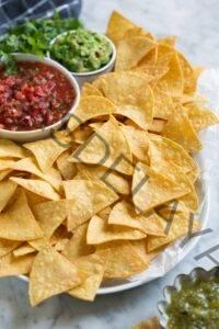 Cómo cocinar🥇 Chips de tortilla caseros