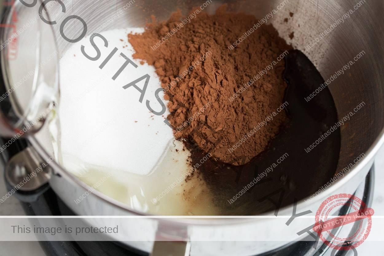 Mostrando cómo hacer galletas de menta andina