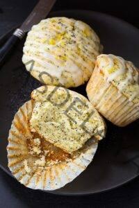 Receta fácil de muffins de limón y semillas de amapola