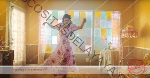 """la sala de estar de selena gomez """"de una vez"""" video musical"""