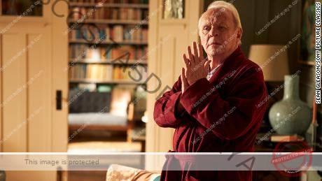 Anthony Hopkins como Anthony en la adaptación cinematográfica de Florian Zeller de su propia obra de teatro