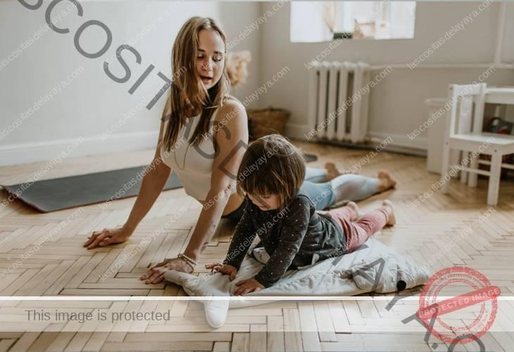Yoga en casa con niños 2