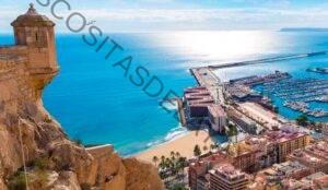 ✅ Alicante, entre dos castillos