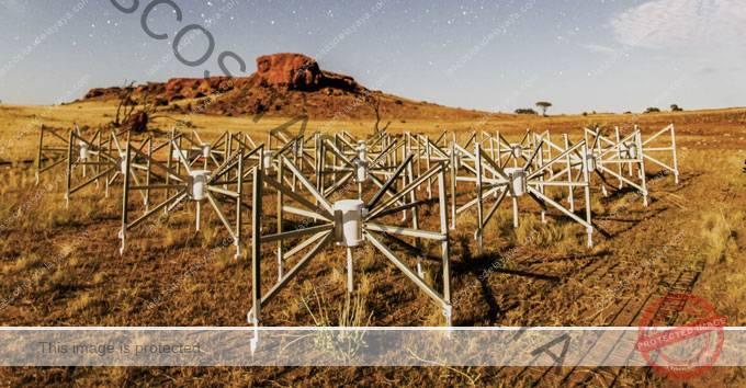 campo de antenas en el Murchison Widefield Array