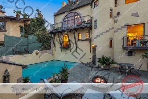 3268 bennett dr storybook home hollywood hills california diseñado por el arquitecto del castillo de la bella durmiente