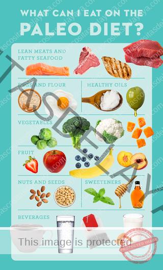 lista de alimentos de la dieta paleo que puedo comer en la dieta paleo