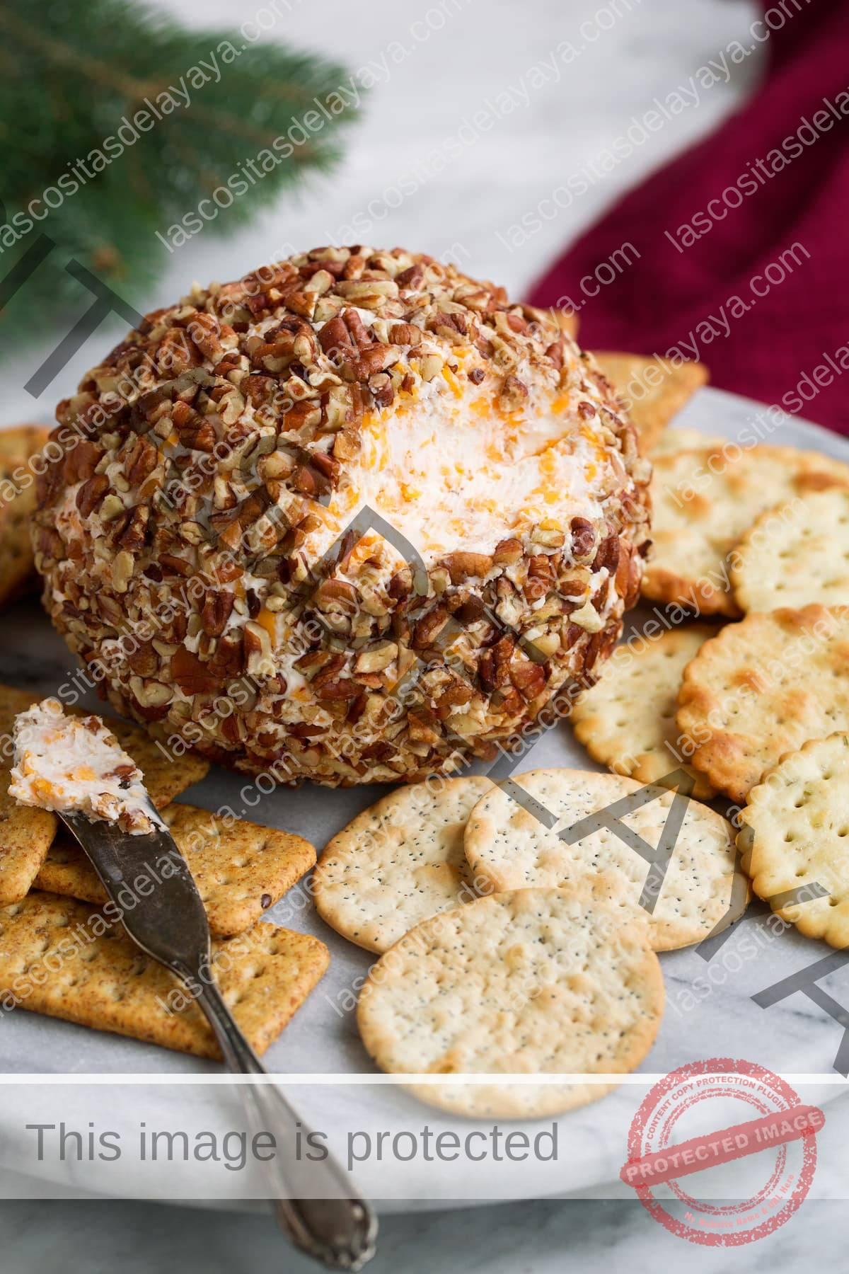 La mejor receta de bola de masa de queso
