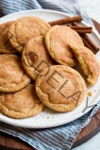 Receta de galletas Snickerdoodle {¡Suave y masticable!} - Cocina con clase