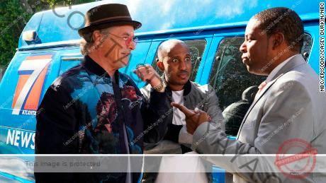 Don Johnson, Chris Redd y Kenan Thompson en & # 39; Kenan & # 39; de NBC  (Casey Durkin / NBC)