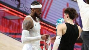 Carmelo Anthony aprueba que LaMelo Ball tome el apodo de 'Melo', celebración de 3 puntos