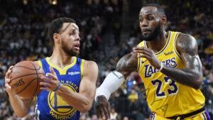 Stephen Curry de los Warriors da un guiño a un posible juego de juego contra LeBron James, Lakers