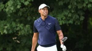Según los informes, Tiger Woods estaba en camino a encontrarse con Drew Brees, Justin Herbert cuando chocó el auto