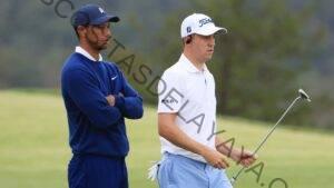 Justin Thomas reacciona al accidente automovilístico de su amigo cercano Tiger Woods: 'Me revienta el estómago'