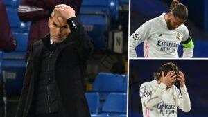 La apuesta de Zidane en la formación fracasa cuando el Real Madrid se queda sin suerte en la Champions League