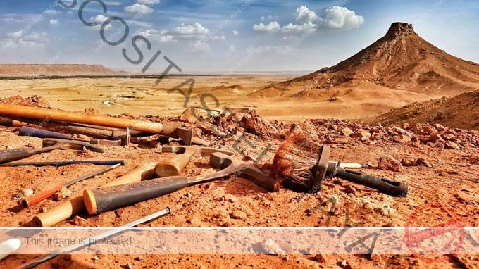 imagen de paisaje del sureste de Marruecos