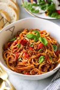Receta de espagueti instantáneo