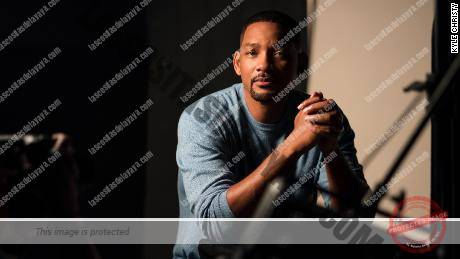 Will Smith aparece en el set de