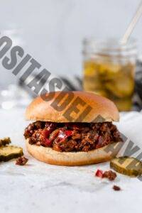 Hamburguesa Sloppy Joes