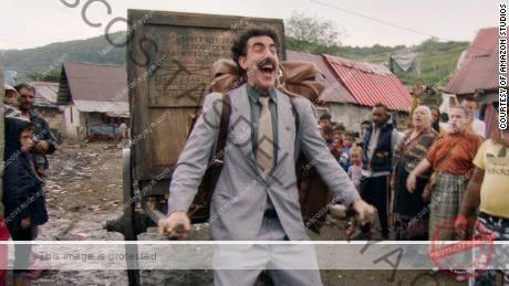 & quot; Película posterior de Borat & quot;  está transmitiendo en Amazon.