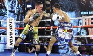 Oscar Valdez noquea a Miguel Berchelt y captura el título de peso súper pluma del CMB